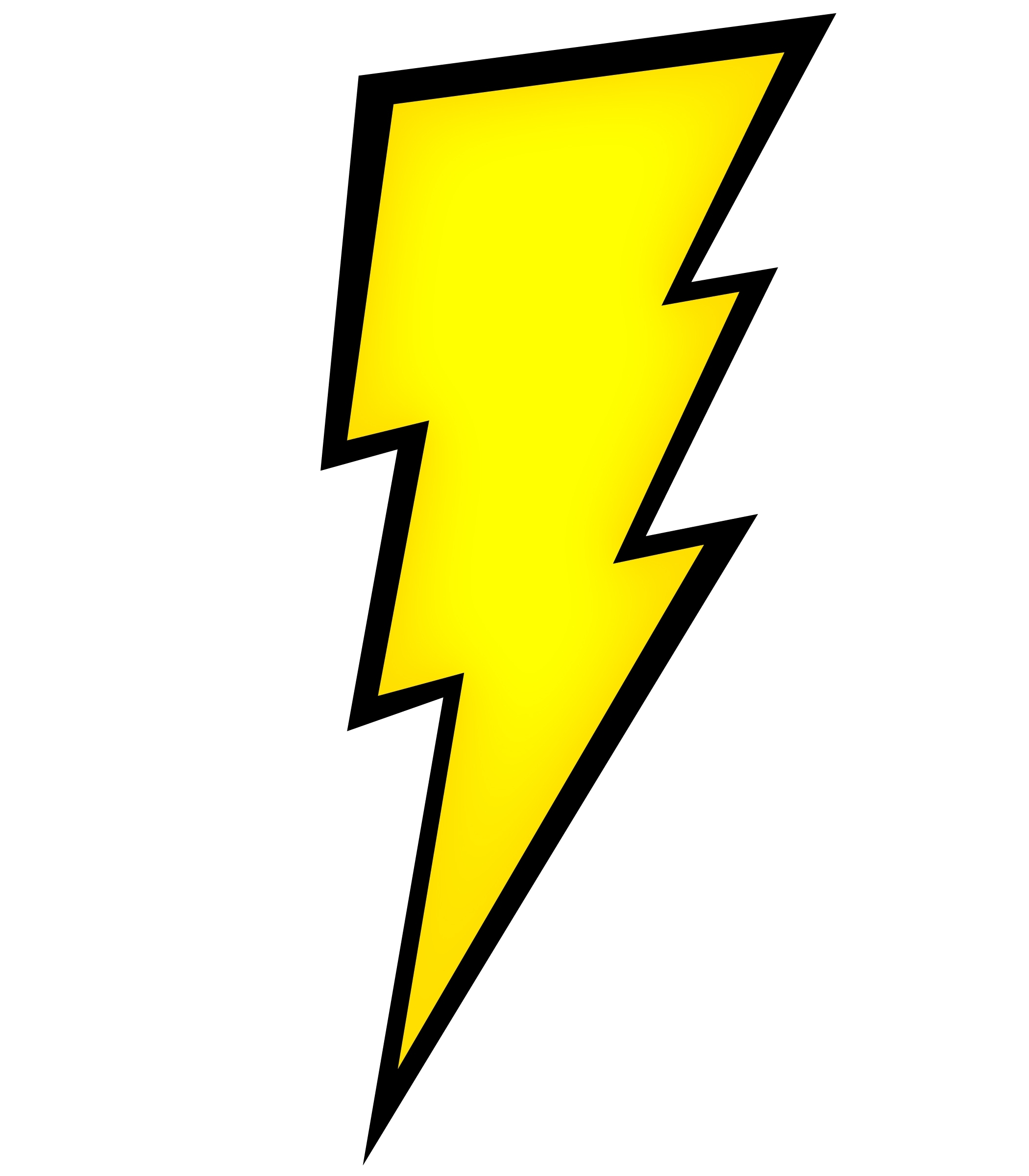 Lightning bolt clipart clipart cliparts for you
