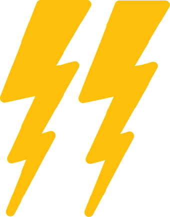 Lightning bolt lightening bolt clipart for your project clipartdeck clip arts