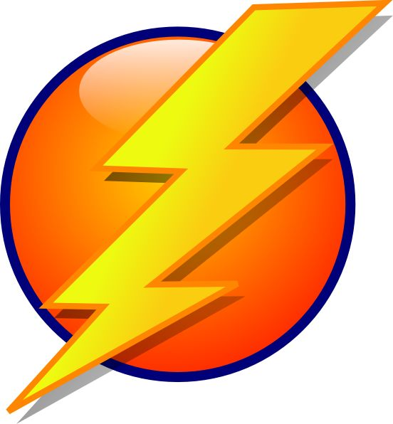 Lightning Bolt Logo | Cartoon .