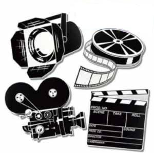 Lights Camera Action Clipart Lights Camera Action