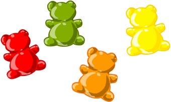 Lights.Camera.SingingTime.: B.E.A.R.S. Singing Time; Green Gummy Bear clip art ...