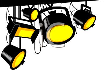 Theatre Lights Clipart #1