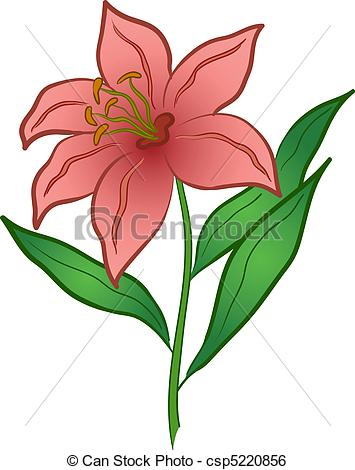Flowers Lily Clipart #1