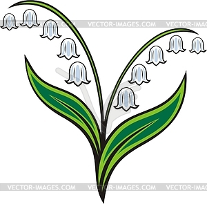 Lily Of The Valley Clipart-Cl - Lily Of The Valley Clipart
