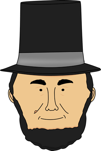 Lincoln Clip Art Abraham .