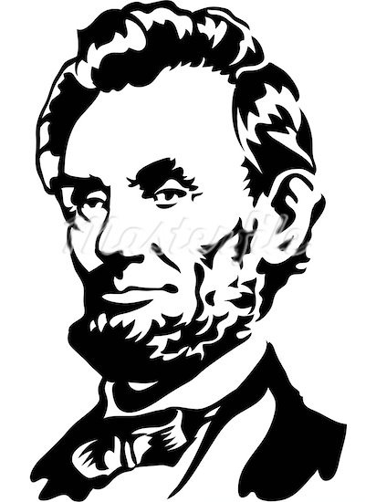 412x550 Abraham Lincoln Clipart Black And White