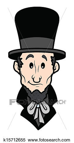 Abraham Lincoln Cartoon Character Vector-Abraham Lincoln Cartoon Character Vector Illustration-8
