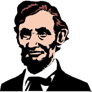 Free Abe Lincoln Clipart Image