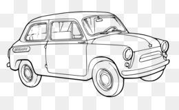 Car Line art Clip art - lincoln motor company