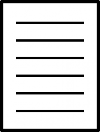 lined paper clipart - Lined Paper Clipart