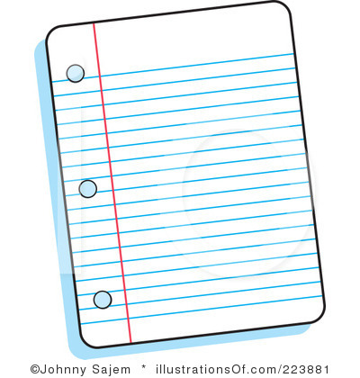 Lined Paper Clipart-lined paper clipart-2