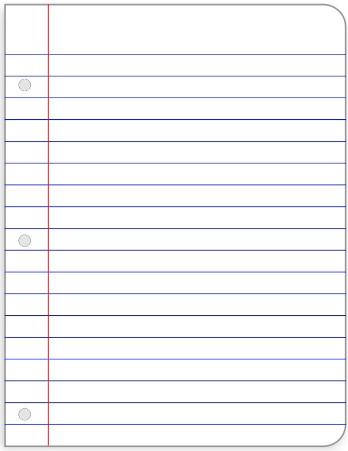 Lined Paper Clipart-Lined Paper Clipart-9