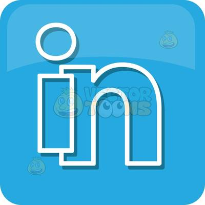 . ClipartLook.com Linked In Logo Icon