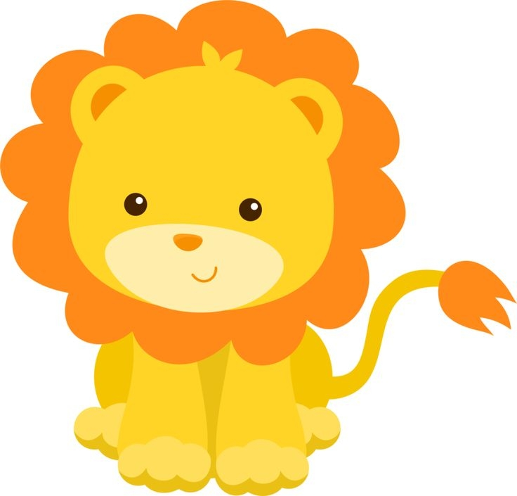 lion clipart baby