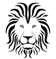 lion clipart outline