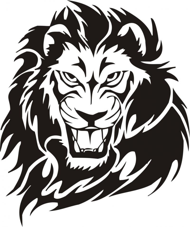 Lion Face Drawings Clipart Best