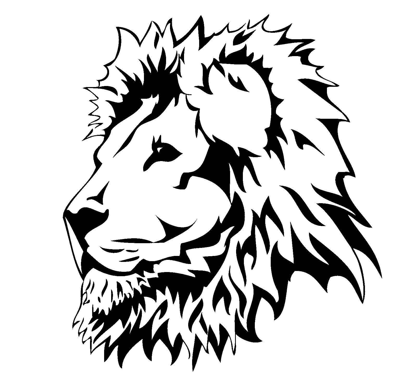 Lion Head Clipart   Clipart library - Free Clipart Images