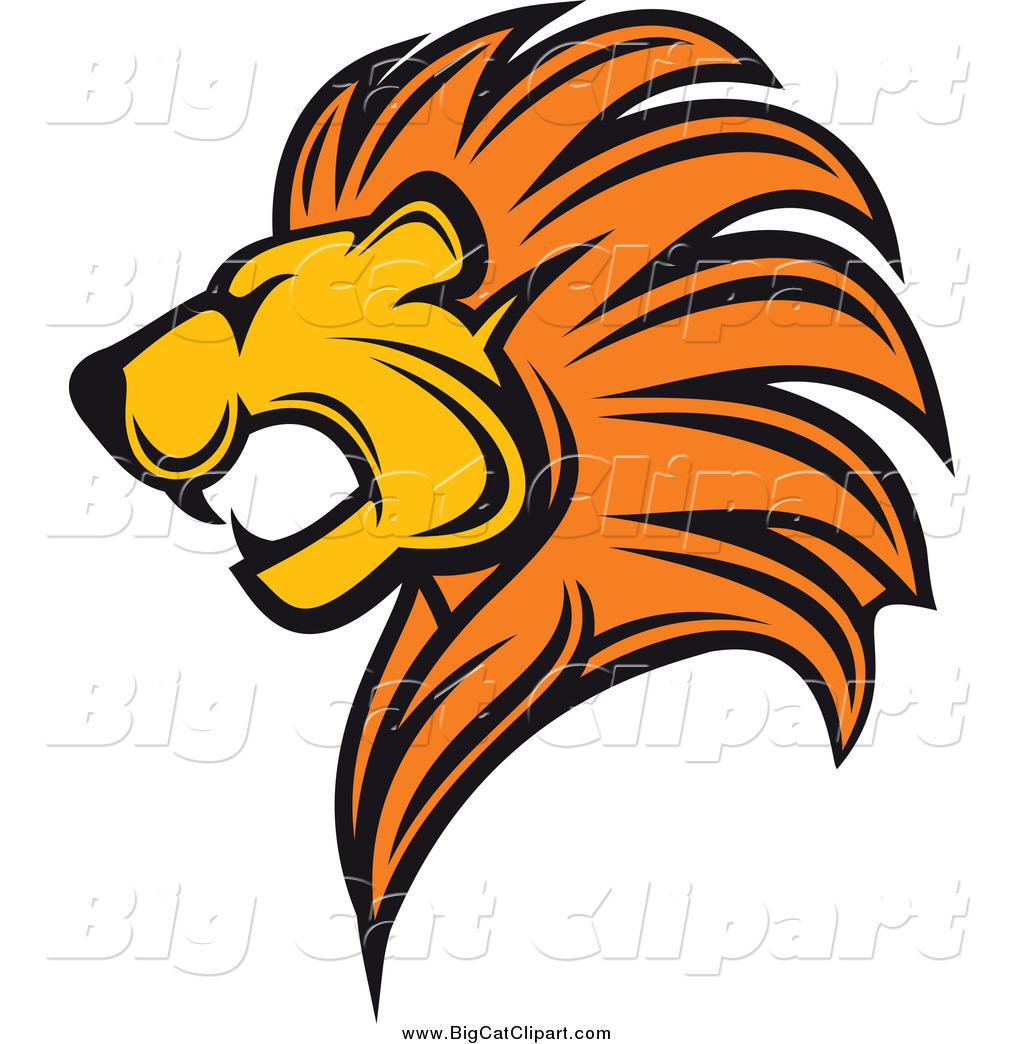 Lion Head Clipart. lion head clipart