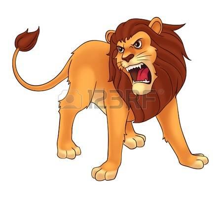 lion roar: lion Stock Photo