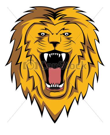 lion roar .