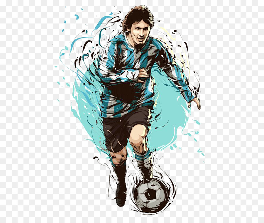 FC Barcelona Argentina national football team FIFA World Cup Clip art -  Star Lionel Messi