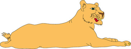 Lioness Clipart-Lioness Clipart-2