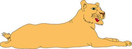 Lioness Clipart