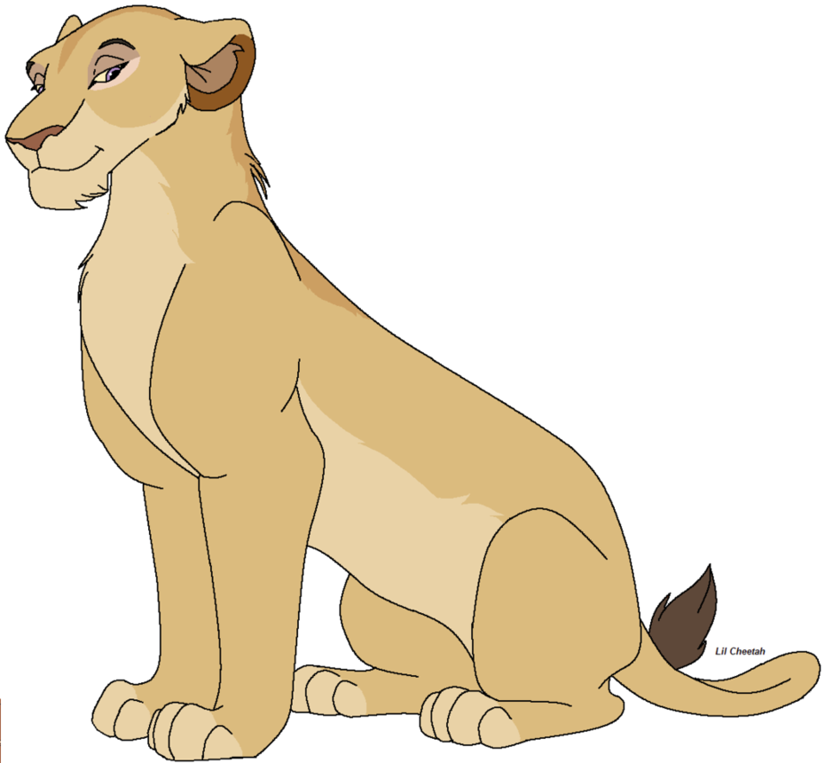 Lioness Clipart