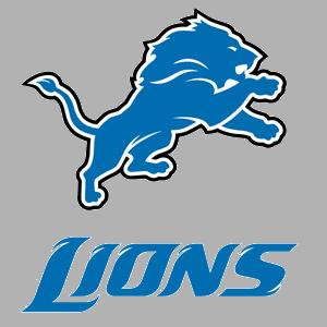 Lions Logo Text Banner · Det - Nfl Team Logos Clip Art