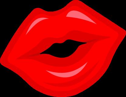 Lips Clip Art 081810 Vector C - Lip Clip Art