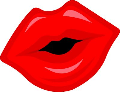 Lips Clip Art - Kissing Lips Clipart