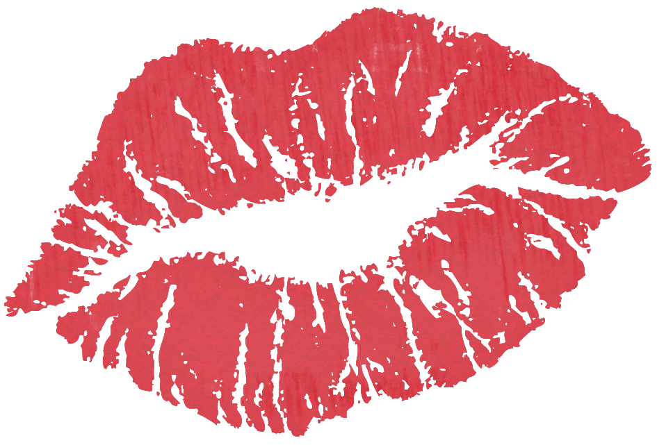 Clipart Of Kisses - Lips Clipart