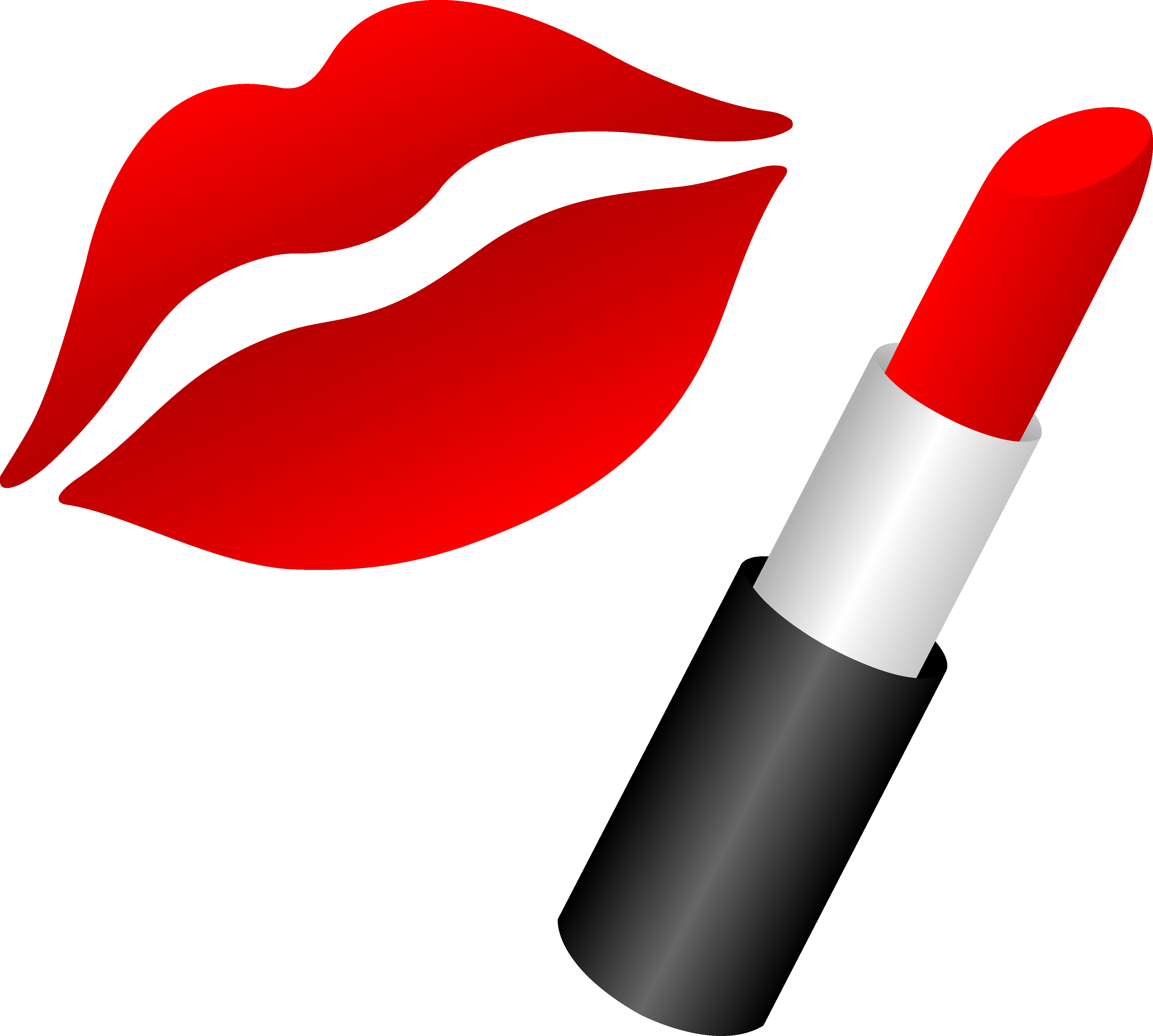 Lips With Red Lipstick - Free Clip Art | Red Lips | Pinterest | It is, Makeup and The ou0026#39;jays