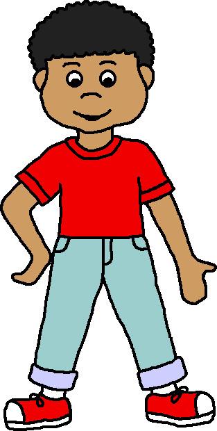 Little boy cartoon clipart clipart kid