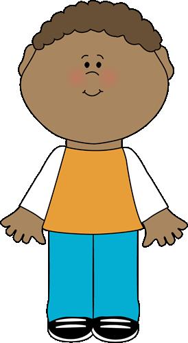 Little Boy Clip Art Image Little Boy In -Little Boy Clip Art Image Little Boy In Tshirt And Denim Pants-16