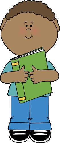 Little Boy Hugging A Book Clip Art Little Boy Hugging A Book Image