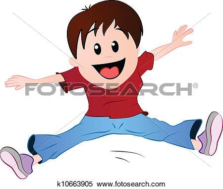Little Boy Jumping-Little boy jumping-9