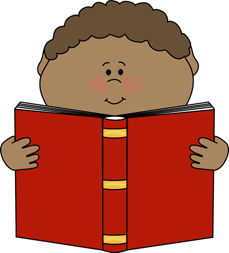 Little Boy Reading A Book Clip Art-Little Boy Reading a Book Clip Art-9