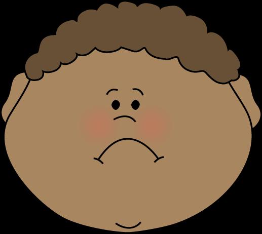 Little Boy Sad Face