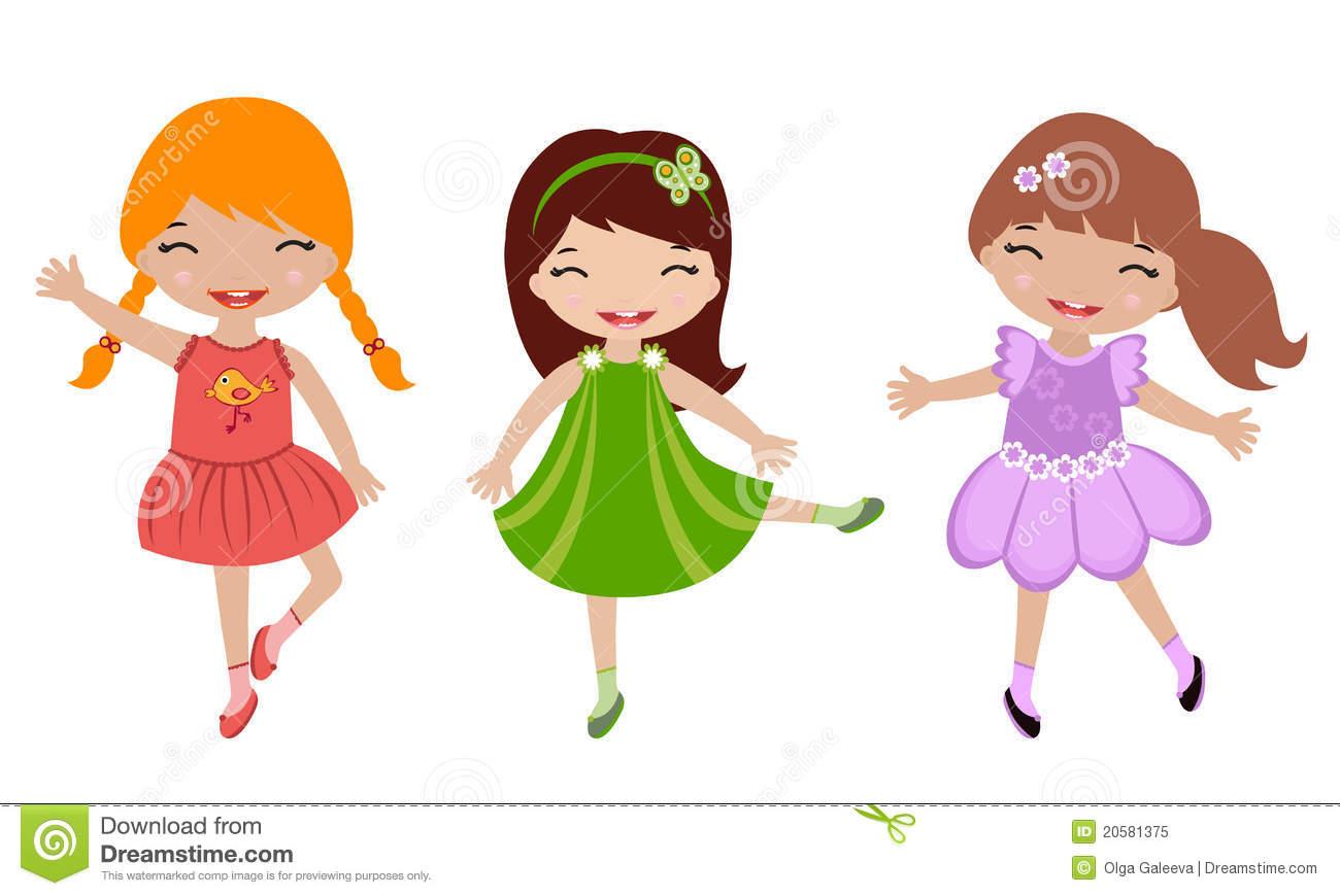 Girl dancing. Girls clipart clipartlook