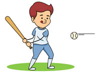 little league player hitting baseball. S-little league player hitting baseball. Size: 48 Kb-10