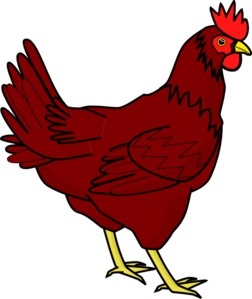 ... Little red hen clipart ...