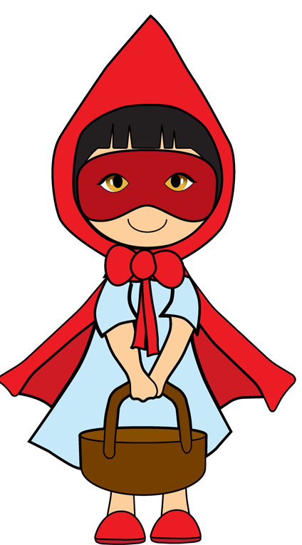 Little Red Riding Hood Clip Art - Clipart library