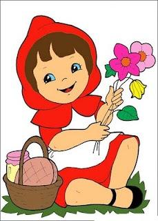 Little Red Riding Hood Clip Art-Little Red Riding Hood Clip Art-2