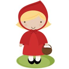 Little red riding hood clipart - ClipartFest