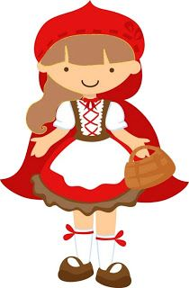 Little Red Riding Hood - Complete Kit with frames for invitations, labels  for goodies,
