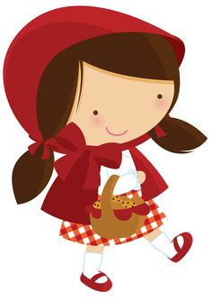 Little Red Riding Hood Cute .-Little red riding hood cute .-6