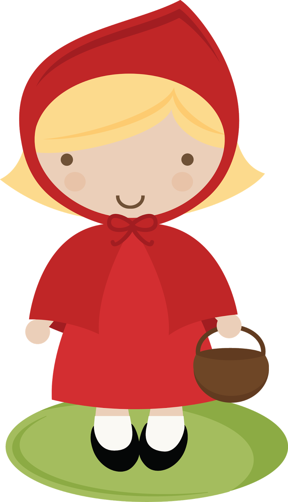 Little Red Riding Hood Template Clipart Best
