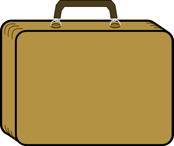 Little Tan Suitcase Clip Art At Clker Co-Little Tan Suitcase Clip Art At Clker Com Vector Clip Art Online-2
