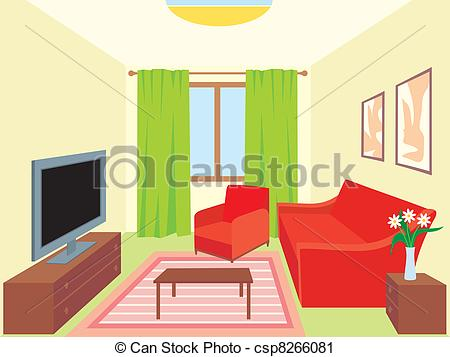Living Room Living Room Clipartby ...-Living room Living room Clipartby ...-13
